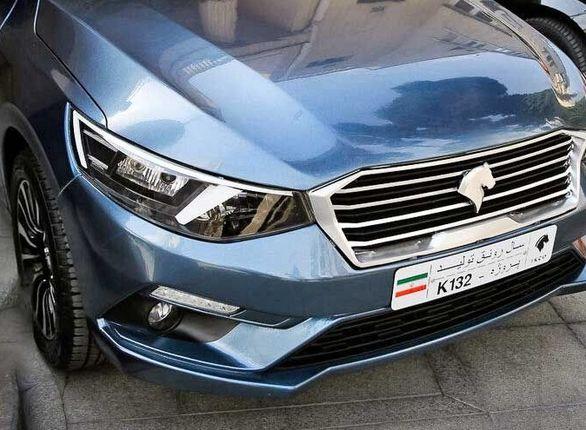نام خودرو جدید ایران خودرو تارا شد + عکس