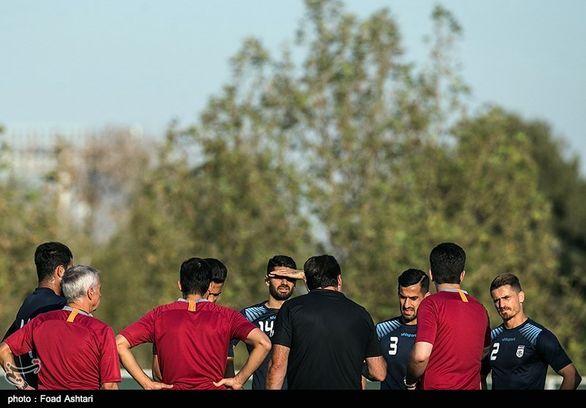چه کسی این نشان عجیب را روی پیراهن تیم ملی ایران تایید کرده؟ (عکس)