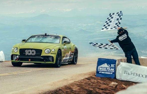 رکوردشکنی تاریخی بنتلی کانتیننتال GT