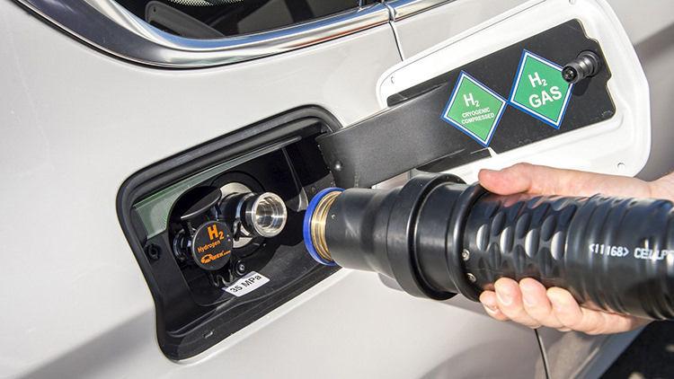 BMW FCEV Hydrogen Car / خودروی الکتریکی پیل سوختی هیدروژنی بیامو