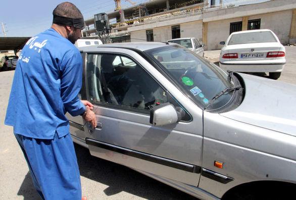 دزدی که سفارشی خودرو سرقت می کرد، دستگیر شد