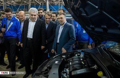 افتتاح خط تولید پژو 301