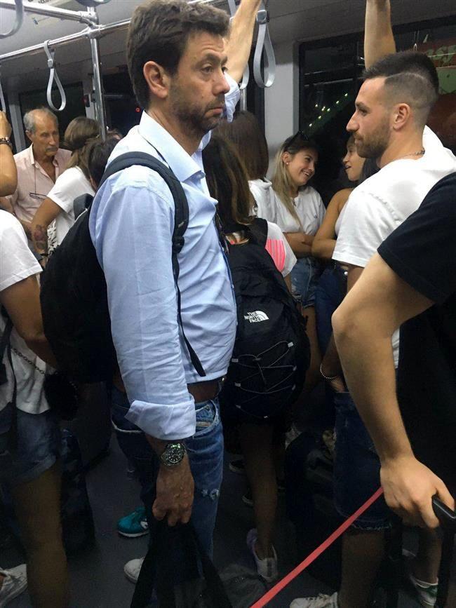 آنیلی در مترو