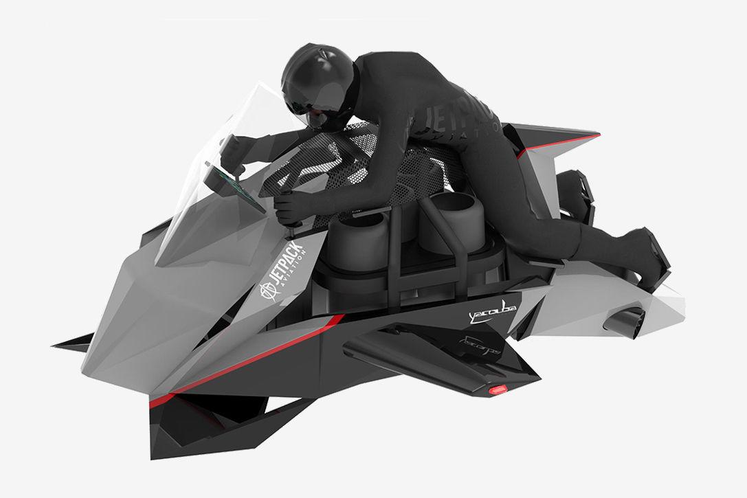 آغاز فروش موتورسیکلت پرنده Jetpack Aviation