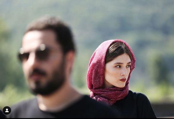 لقب عاشقانه نوید محمدزاده به همسرش فرشته حسینی + عکس
