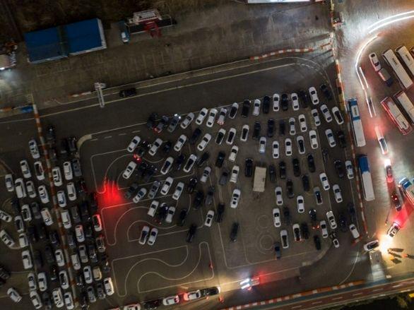 رونق سینماهای خودرویی به لطف ویروس کرونا در کره جنوبی (تصاویر)