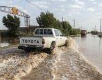 تلاش ها برای بستن سد در خوزستان + تصاویر
