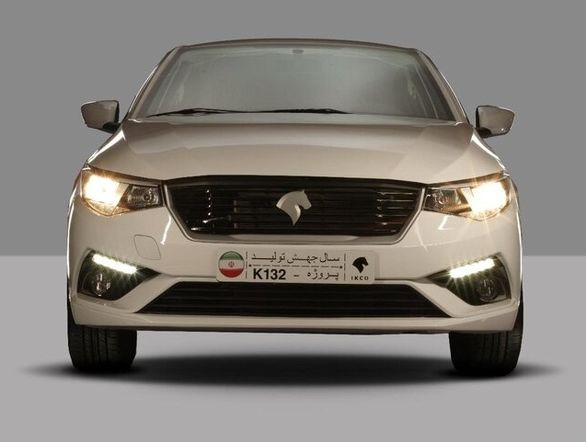 اولین تیزر از خودرو K132 ایران خودرو