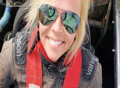 جسی کامبس | کورددار سریع ترین زن جهان در حرکت روی زمین