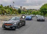 رژه بچه پولدارهای تهران با خودروهای میلیاردی! (ویدئو)