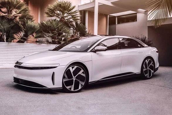 سرانجام لوسید ایر مدل 2021 رونمایی شد