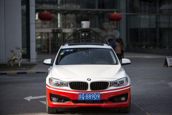 موتور جستجوی چینی خودروی خودران می سازد