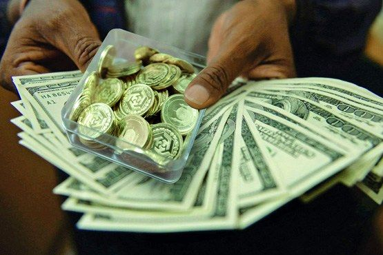 قیمت دلار و سکه طلا در مسیر کاهش قرار گرفت