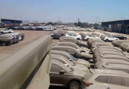 چند هزار دستگاه خودرو در گمرک خاک می خورد؟