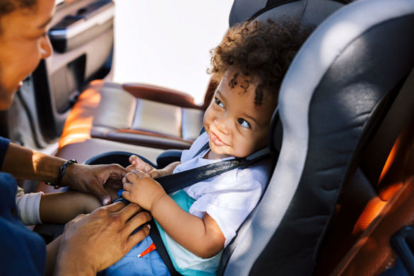 برنامه های هفته ایمنی سرنشینان کودک در خودرو