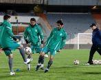 تصاویر تاسف بار از رعایت حداقلی پروتکل های بهداشتی توسط بازیکنان تیم ملی
