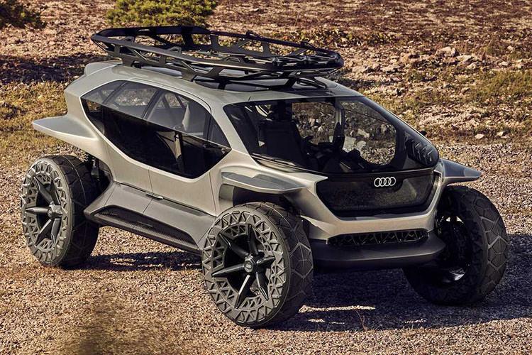 Audi AI:TRAIL quattro / آئودی مفهومی آف رود