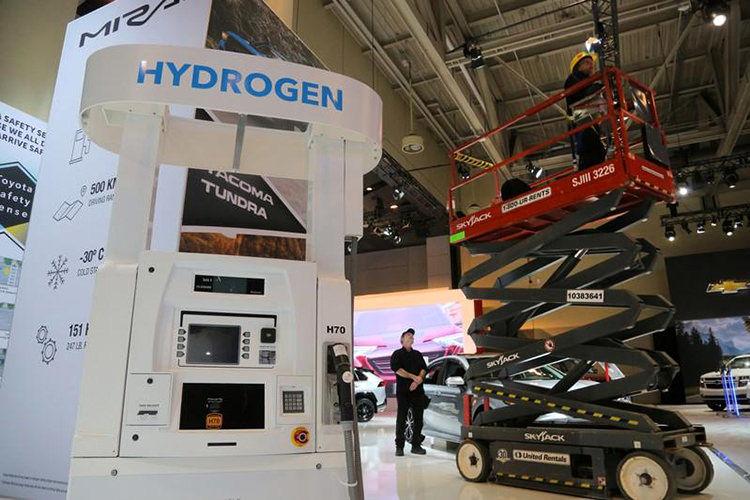 hydrogen car / خودرو هیدروژنی