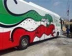 هوادار طارمی برای اتوبوس تیم ملی مشکل ساز شد   عکس