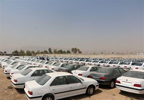 نیمی از خودروهای فروخته شده، انبار شده اند