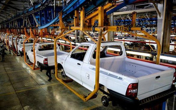 تنها گروه خودرویی که افزایش تولید را تجربه کردند