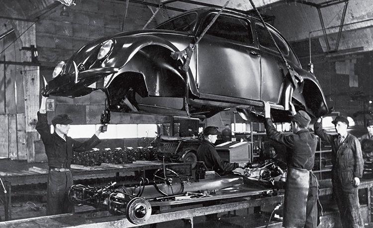 Volkswagen beetle factory