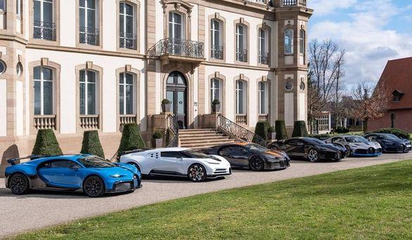 6 دستگاه بوگاتی با قیمتی بیش از 35.5 میلیون دلار (عکس)