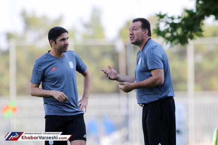هاشمیان: به ویلموتس گفته بودند فقط از فوتبال هجومی حرف بزن