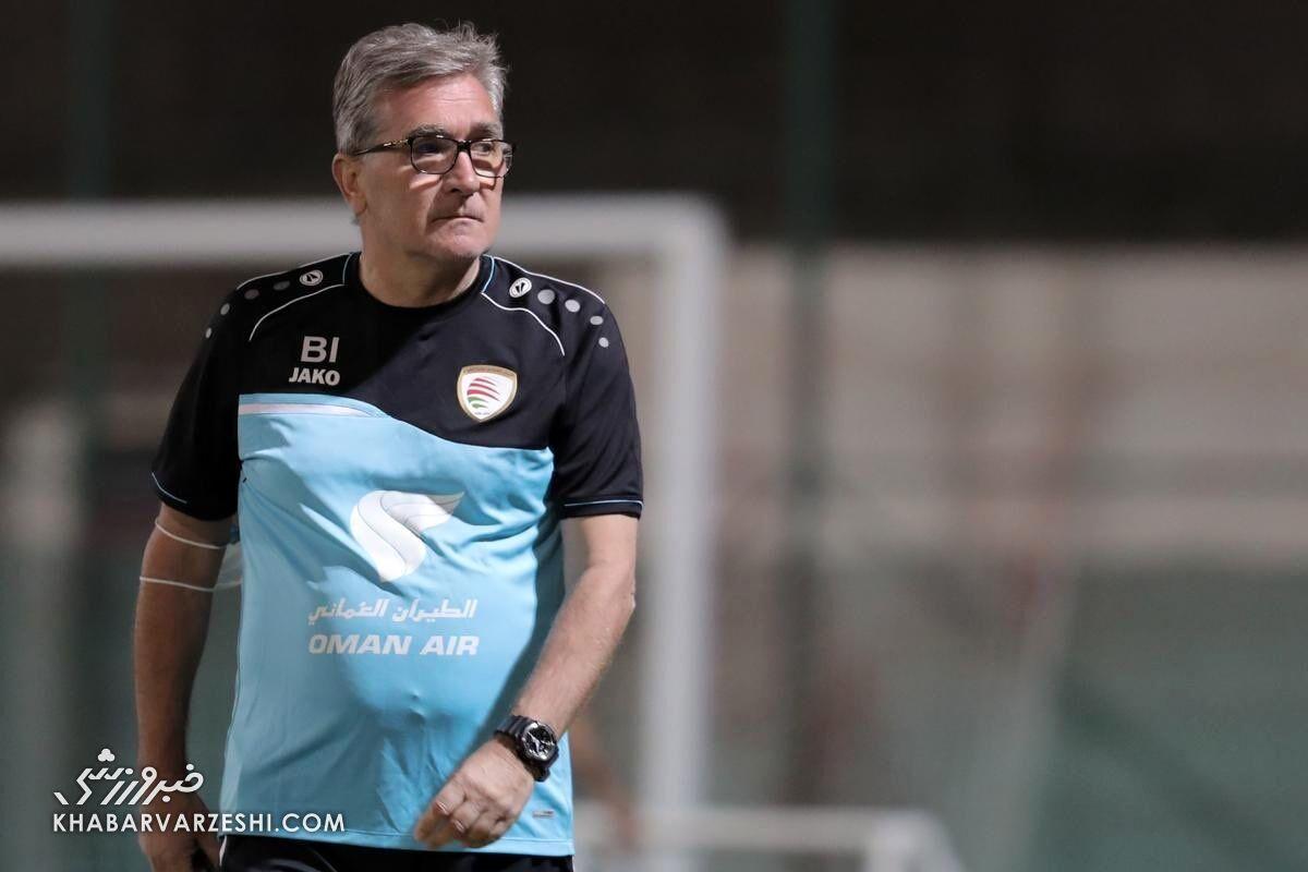 برانکو ایوانکوویچ در تیم ملی عمان