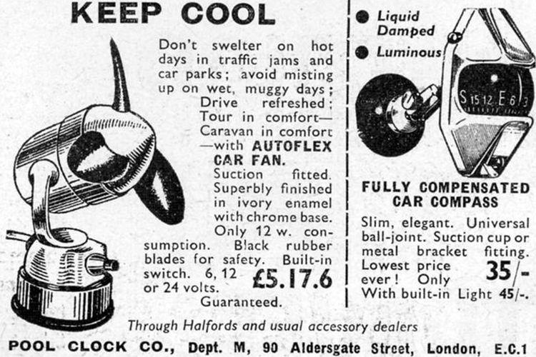 Autoflex car fan