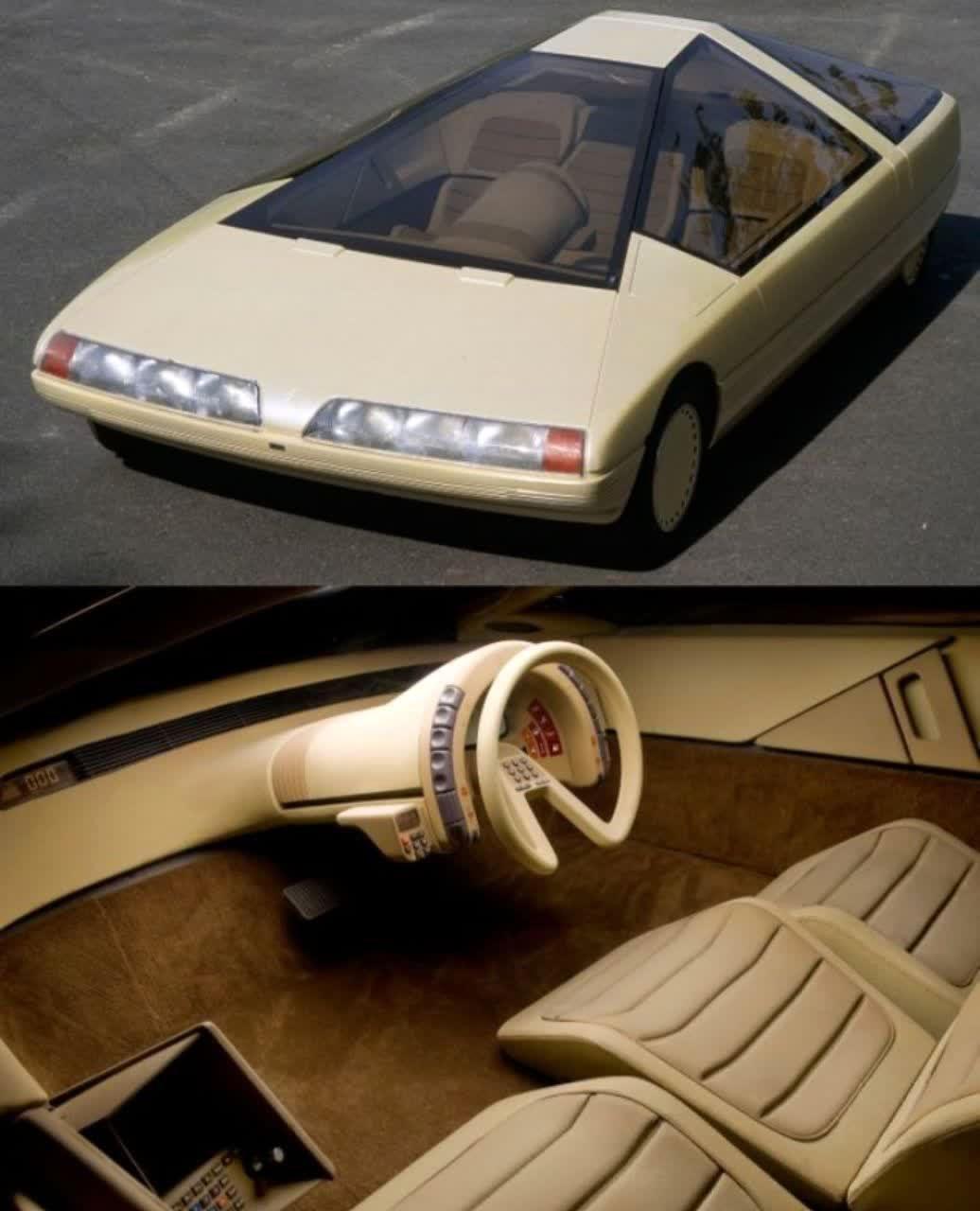 طراحی عجیب داخل اتومبیل