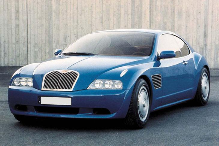 Bugatti EB118 Concept
