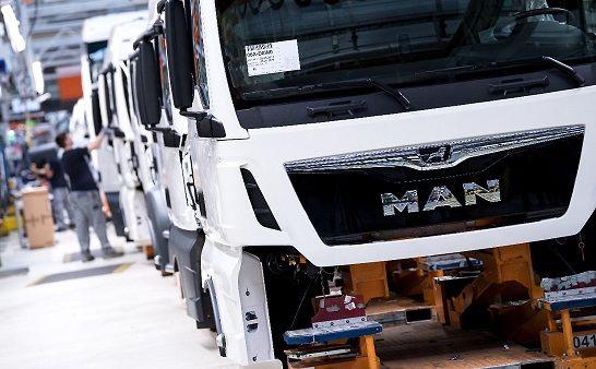 توقف تولید کامیونهای گازوئیل سوز در اروپا