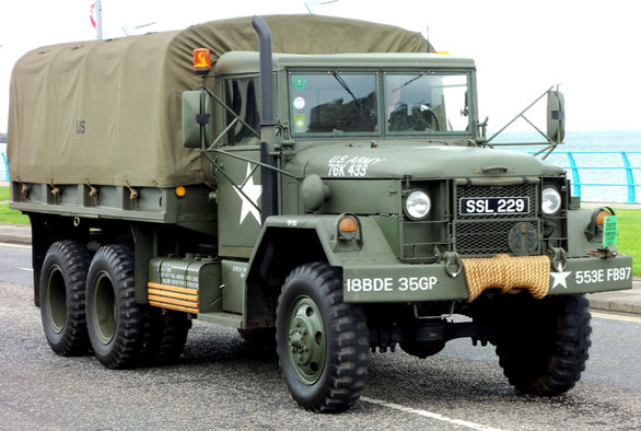 کامیون های ارتش آمریکا در جنگ جهانی دوم