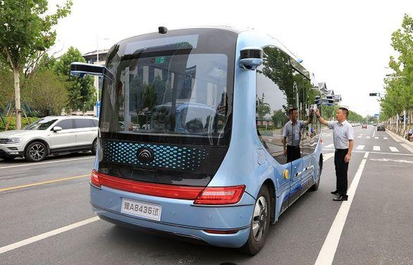 ورود رسمی خودروهای خودران در ناوگان حمل و نقل عمومی چین