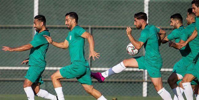 تمرینات تیم ملی ایران