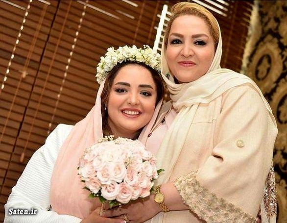 عکس های عروسی نرگس محمدی+عکس