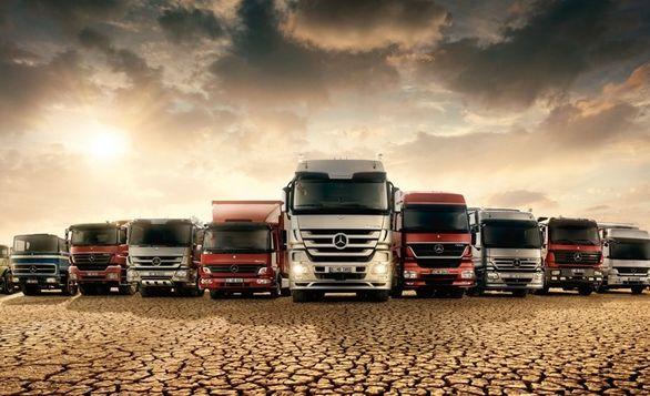 نگاهی به تاریخ درخشان کامیون های مرسدس بنز
