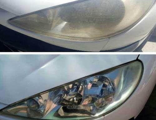رفع ماتی چراغ های جلو خودرو