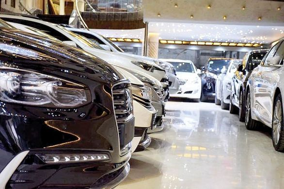 توپ واردات خودرو در زمین دولت