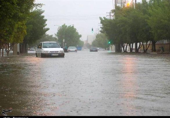 آخرین وضعیت بارش نزولات جوی در کشور