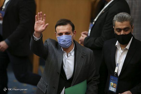 رئیس فدراسیون گل ایران را ندید+ عکس
