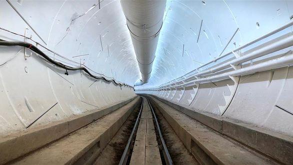 فاز اول تونل فوق سریع افتتاح شد + تصاویر